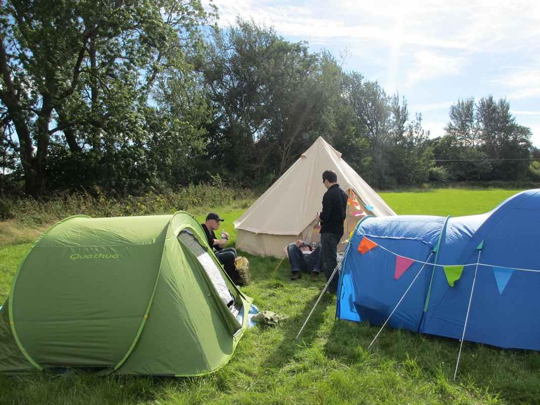 Faire du camping en fin septembre