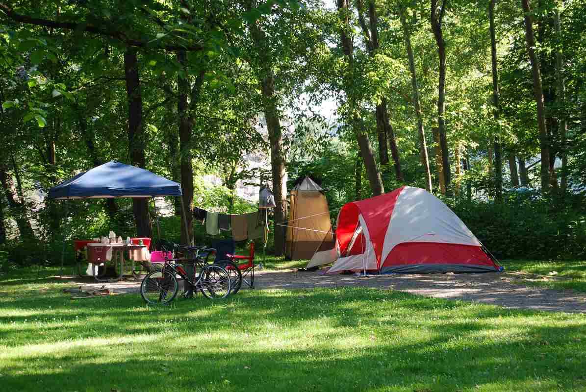 Trouver un bon camping