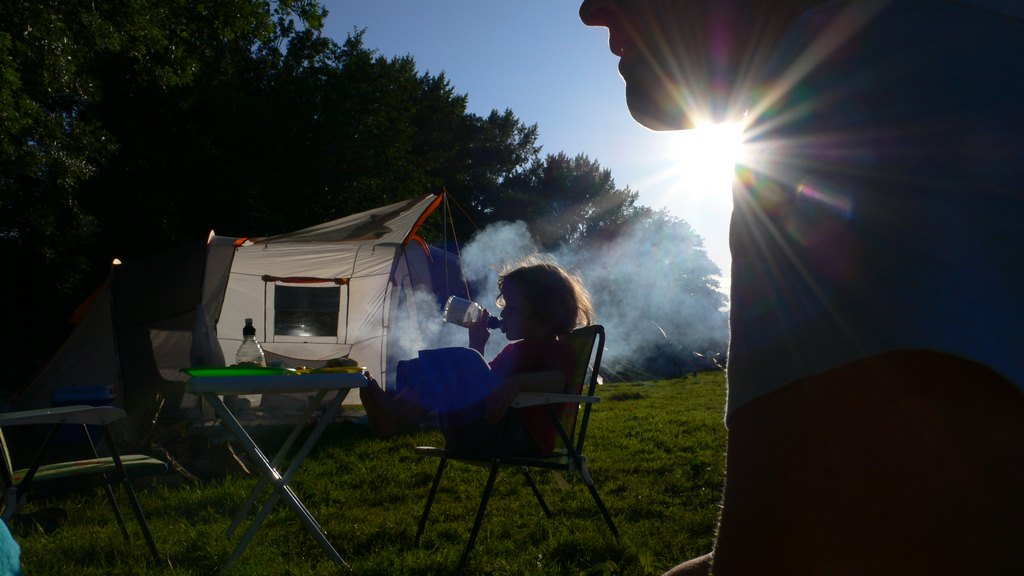 Faire du camping avec les enfants
