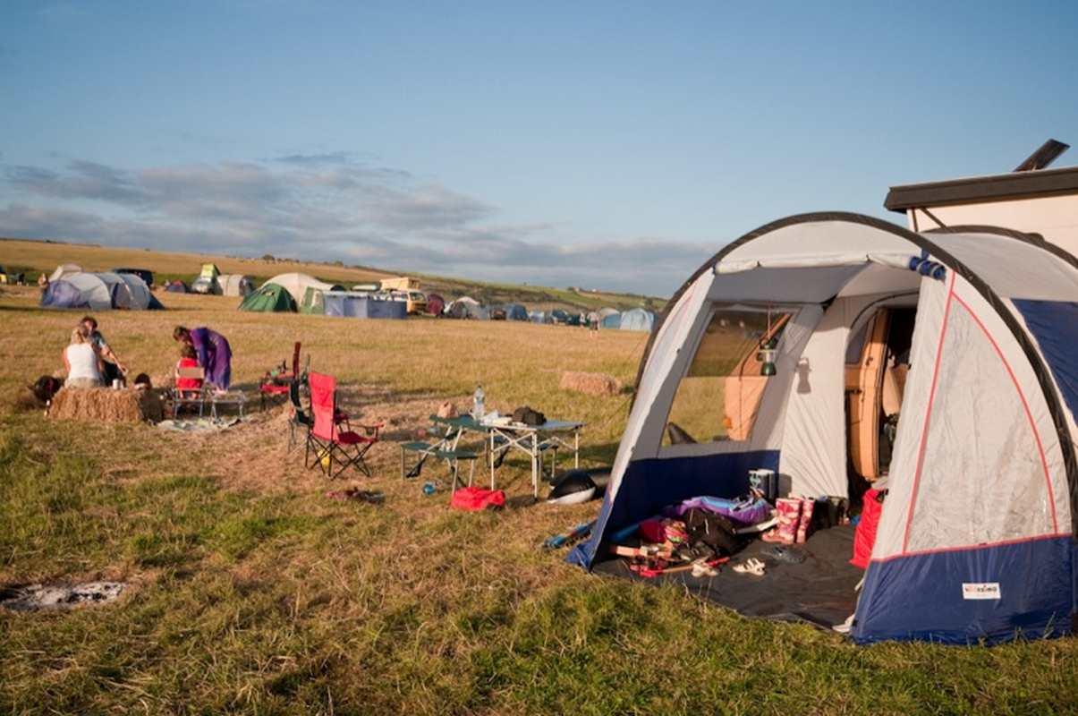 Camper en juillet-aout